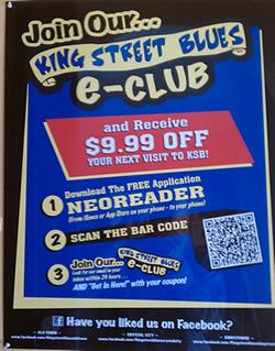 King Stree Blues QR